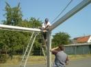 Auf- und Abbau Zeltkirb 2009 6