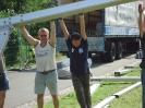 Auf- und Abbau Zeltkirb 2011 10